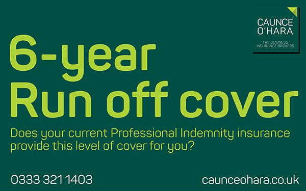 6 year run off insurance cover available from Caunce O ...