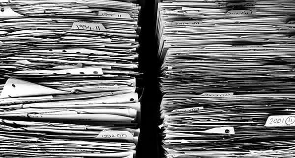 Paper filing of accounts is no longer efficient