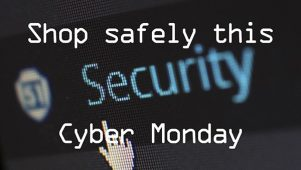 Shop safely this cyber monday