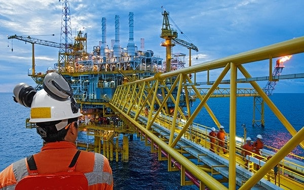 Offshore oil and gas industry insurance