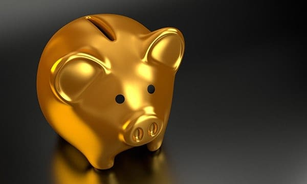 build up your piggy bank for a rainy day