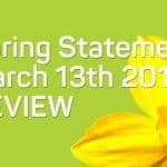 Spring Statement 2019 Review