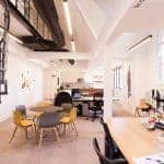 Co-working spaces in Manchester - Headspace co-working area