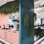 Huckletree Manchester co-working space - kitchen
