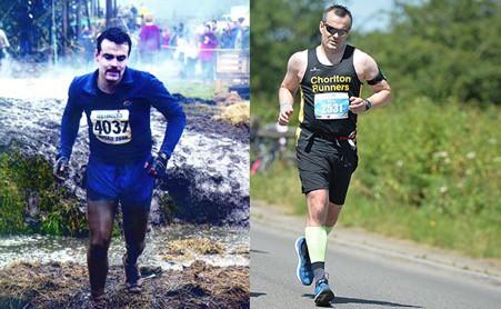 Caunce O'Hara's Marketing Manager Phil Ainley running a marathon